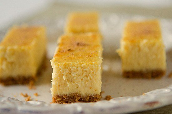 cheesecake bars elizabeth s eggnog cheesecake eggnog cheesecake bars ...