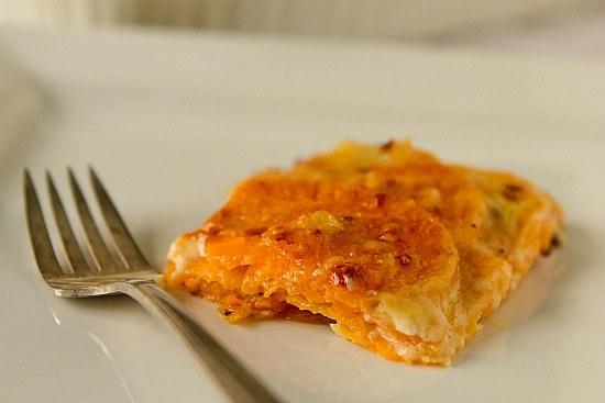 Sweet Potato Gratin Recipe — Dishmaps
