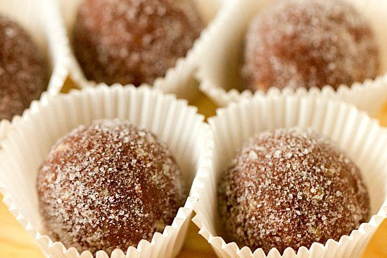 Chocolate Bourbon Balls | Brown Eyed Baker