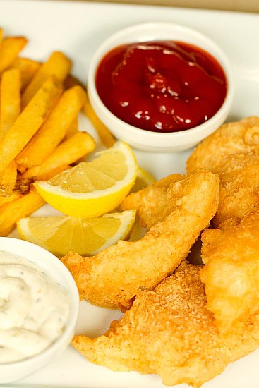 Fish and chips recipe no beer for Fish batter for cod