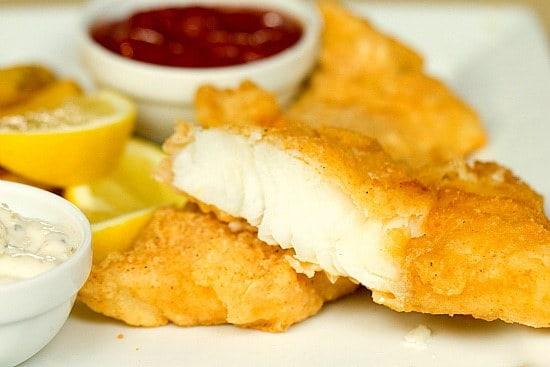 Brown Eyed Baker Beer Battered Cod | Fish and Chips