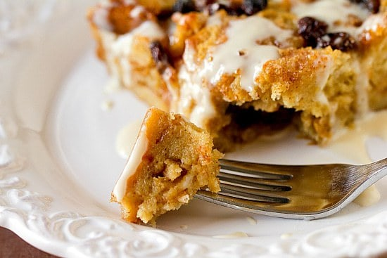 New Orleans Bourbon Bread Pudding with Bourbon Sauce | Brown Eyed ...