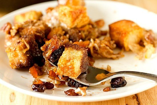 Capirotada (Mexican Bread Pudding) | Brown Eyed Baker