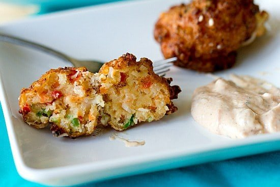 Conch Fritters Raw