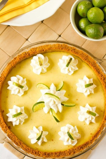 Key Lime Pie Recipe | Brown Eyed Baker