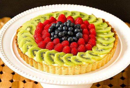 list of healthy fruits mini fruit tart recipe