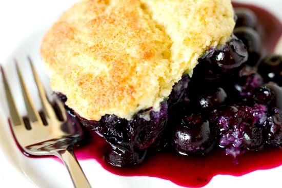 Blueberry Cobbler | Brown Eyed Baker