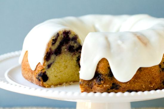Blueberry-Lemon Buttermilk Bundt Cake | Brown Eyed Baker