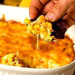 Hot Corn and Cheese Dip