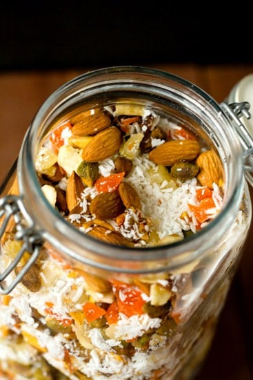 Tropical Trail Mix Recipe | Brown Eyed Baker