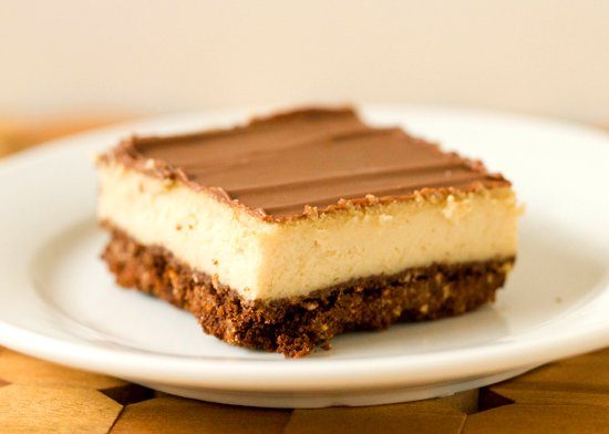 Chocolate-Cheesecake Squares Recipe — Dishmaps