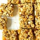 Ginger-Peach Granola Squares