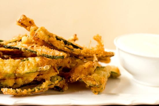 Beer-Battered Zucchini Fries | Brown Eyed Baker