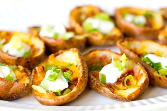 [pictured: potato skins]
