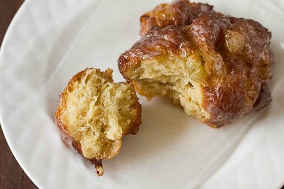 how to make round ball with dougnut dough