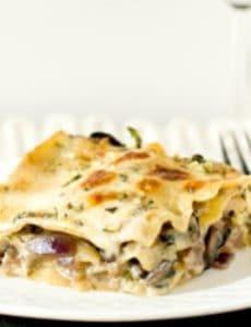 Mushroom Lasagna