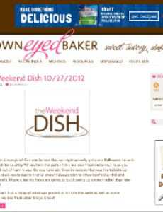 ANNOUNCEMENT: New Site Design + New Features on BrownEyedBaker.com!