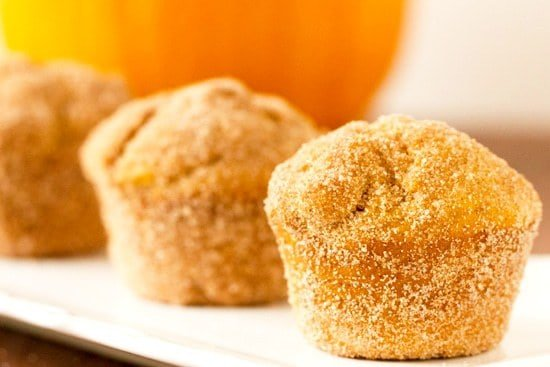 Pumpkin Doughnut Muffins | Brown Eyed Baker