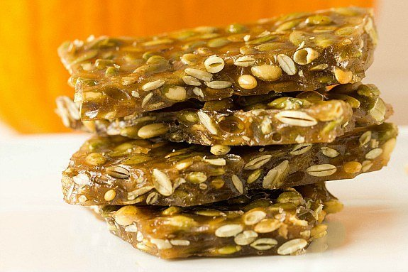 Pumpkin Seed Brittle With Vanilla Bean And Cardamom From Brown Eyed ...