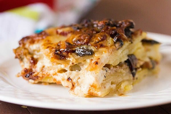 Mushroom And Potato Gratin With Thyme And Parmesan Recipes ...