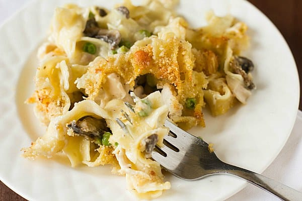 Turkey Tetrazzini Recipe | Brown Eyed Baker