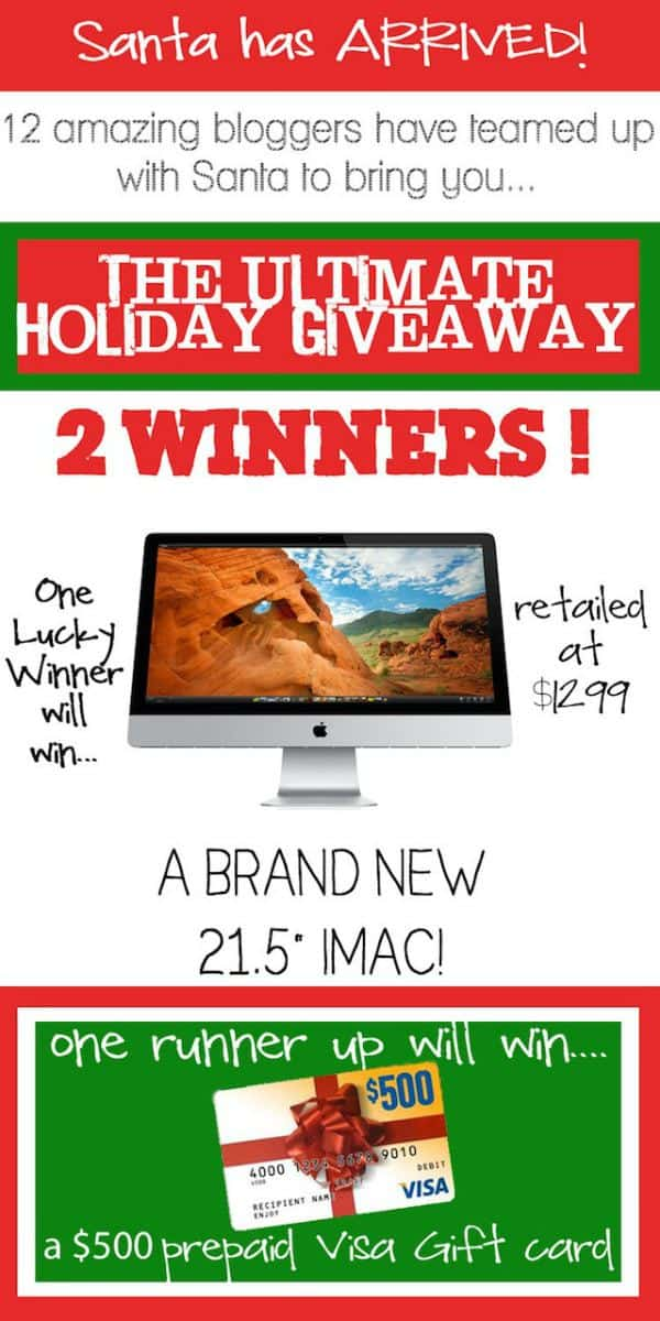 Win Apple iMac & $500 Cash Gift Card