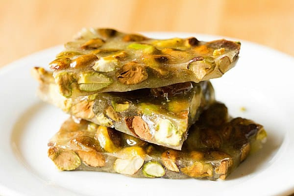 Pistachio Brittle | Brown Eyed Baker