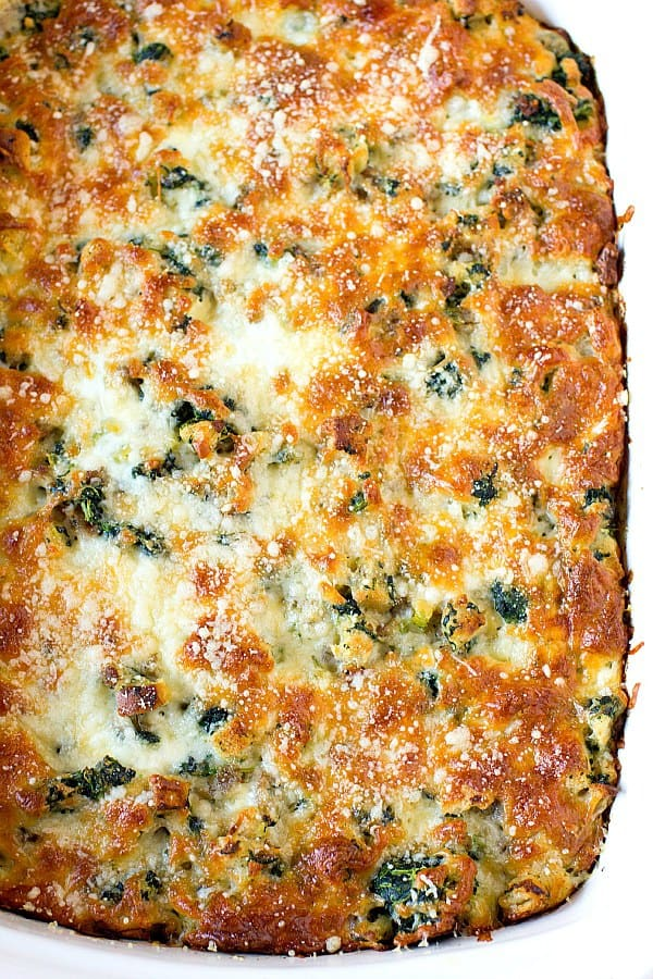 mushrooms with rice spinach mushroom and cheese breakfast casserole ...