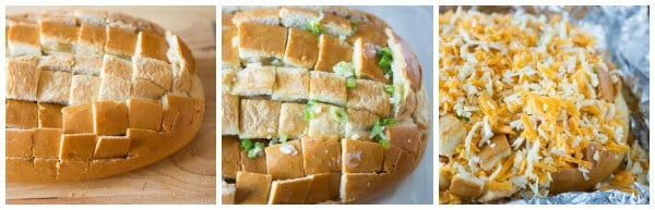 Pull-Apart Cheesy Bread