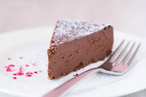 Flourless Chocolate Truffle Cake Flourless chocolate cake