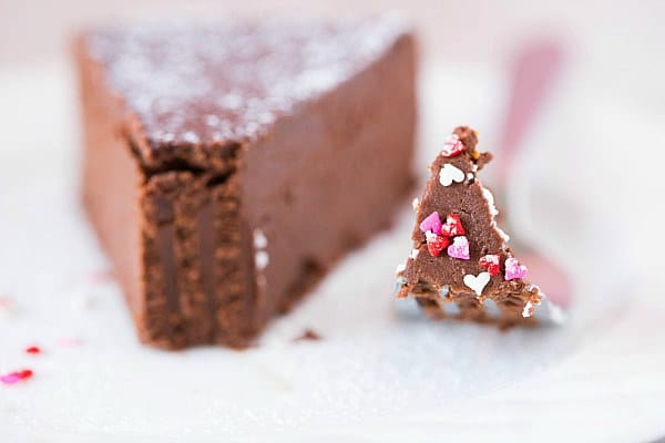 brown-eyed baker flourless chocolate cake