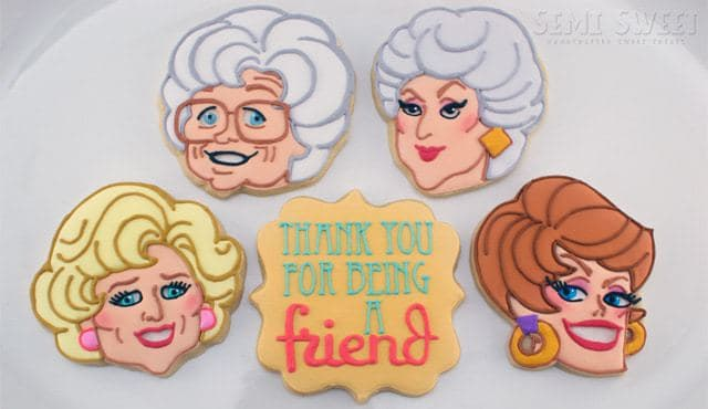 Golden Girls Sugar Cookies