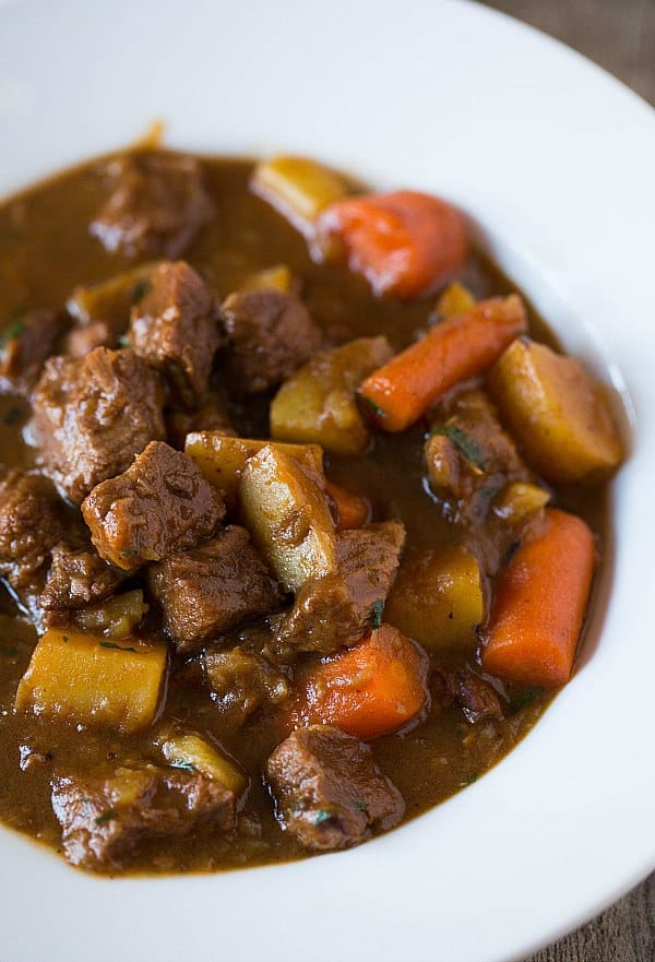 Guinness Beef Stew Recipe | Brown Eyed Baker