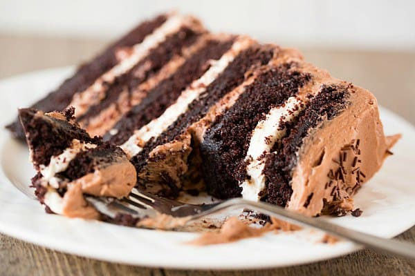 Mocha Marble Layer Cake | mocha Marble Layer Cake Recipe - The Best ...