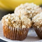 Banana-Macadamia Nut Muffins