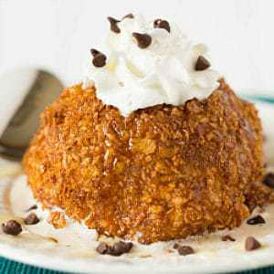 how to make fried ice cream easy