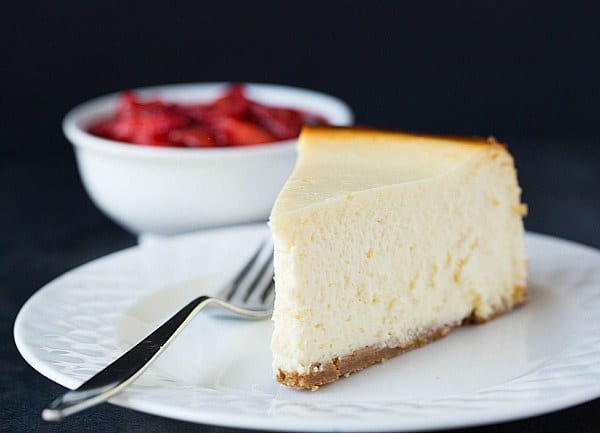 New York-Style Cheesecake Recipe