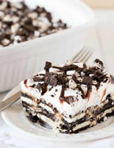 Oreo Cheesecake Icebox Cake
