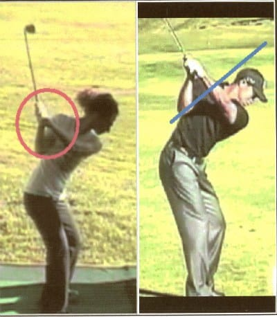 Analyzing my golf swing