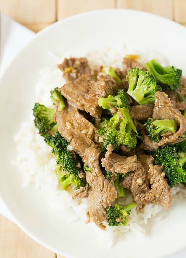 Chinese Beef and Broccoli Recipe | Brown Eyed Baker