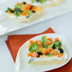 Veggie Pizza Appetizer