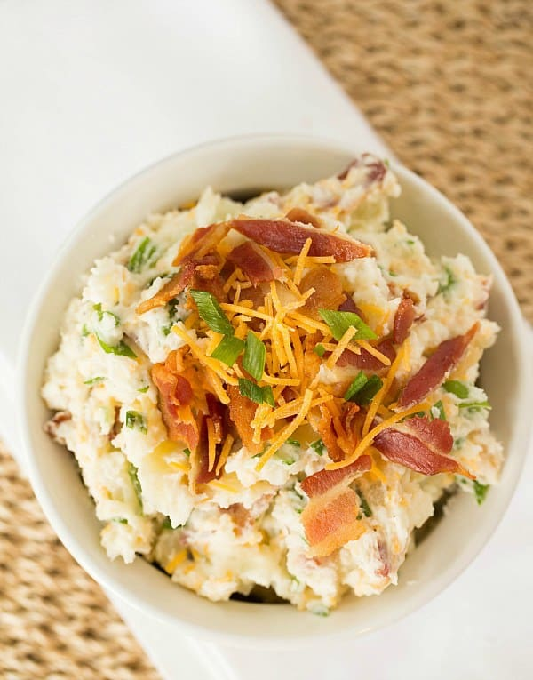 Loaded Baked Potato Salad by Brown Eyed Baker :: www.browneyedbaker.com
