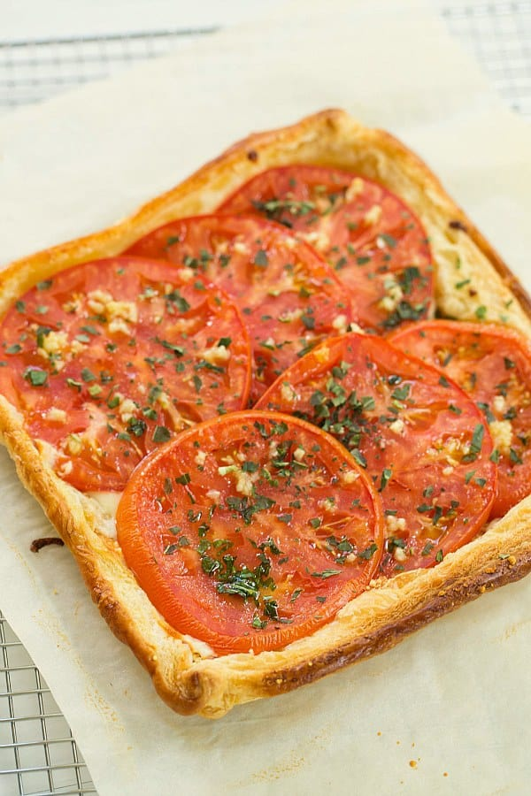 Tomato Tart Recipe | Brown Eyed Baker