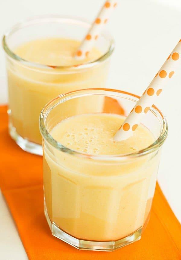 Mango Smoothie Recipe | Brown Eyed Baker