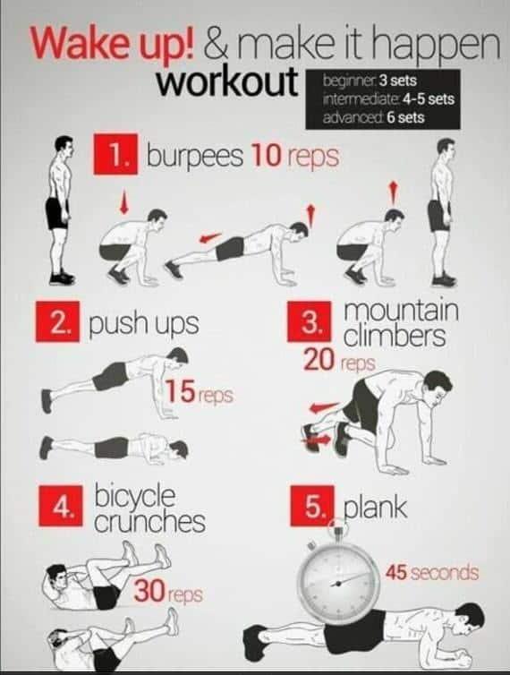 Wake Up! & Make It Happen Workout