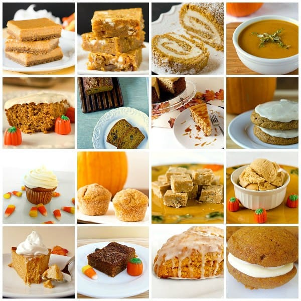 20 Favorite Pumpkin Recipes by @browneyedbaker :: www.browneyedbaker.com