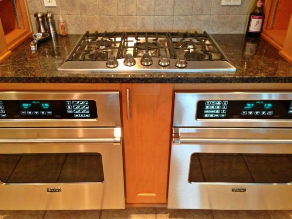 New Viking cooktop and ovens