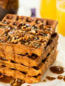 http://www.browneyedbaker.com/2013/10/09/praline-waffles-recipe/