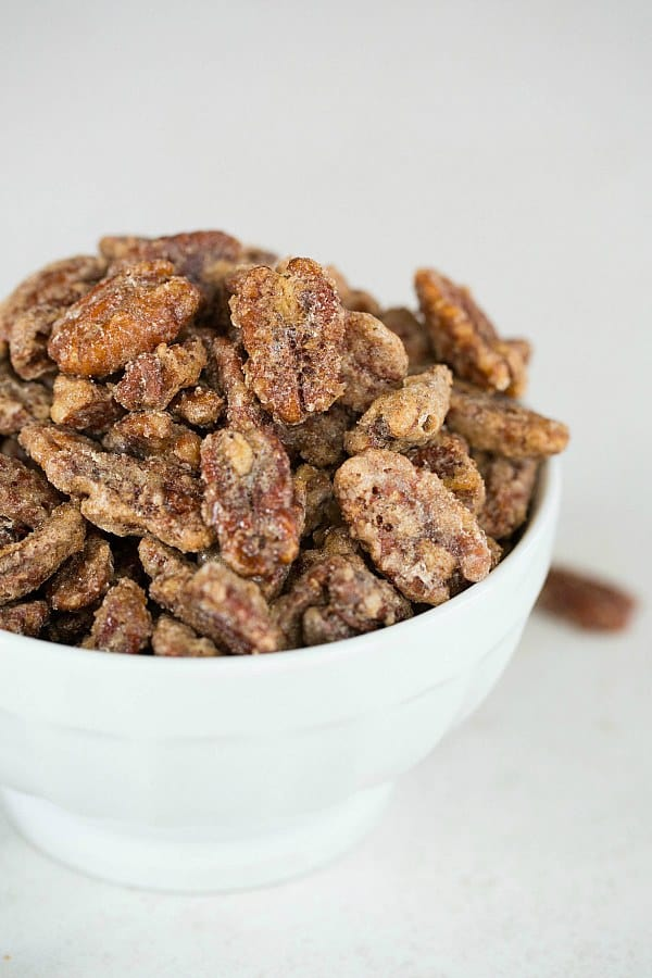 Cinnamon-Sugar Candied Pecans Recipe | Holiday Recipes | Brown Eyed ...