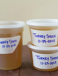 How to Make Homemade Turkey Stock